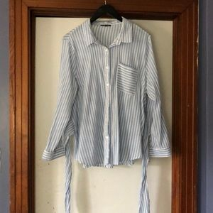 Charlotte Russe Button Down Blouse 2X